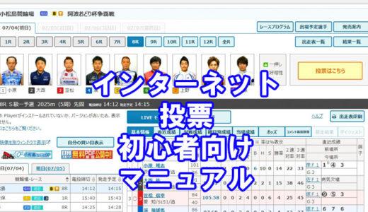 自宅でも全国の競輪場の車券が買える!ネットで簡単!初心者でも買えるインターネット投票画像付きマニュアル!