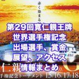 第29回寛仁親王牌2020世界選手権記念トーナメント(前橋競輪G1)アイキャッチ