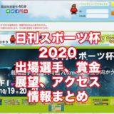 日刊スポーツ杯2020(富山競輪F1)アイキャッチ