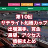 第10回サテライト船橋カップ2020(松戸競輪F1)アイキャッチ
