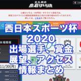 西日本スポーツ杯2020(小倉競輪F1)アイキャッチ