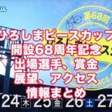 ひろしまピースカップ2020開設68周年記念(広島競輪G3)アイキャッチ