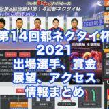 第14回都ネクタイ杯2020(別府競輪F1)アイキャッチ