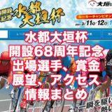 水都大垣杯2021開設68周年記念(大垣競輪G3)アイキャッチ