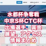 水都杯争奪戦中京S杯CTC杯2021(大垣競輪F1)アイキャッチ
