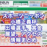 スポーツニッポン賞2021小橋正義杯(弥彦競輪F1)アイキャッチ