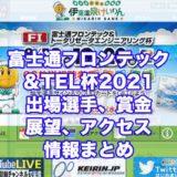 富士通フロンテック&TEL杯2021(伊東競輪F1)アイキャッチ