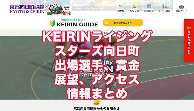 KEIRINライジングスターズ2021(向日町競輪F1)アイキャッチ