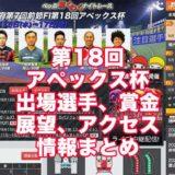 第18回アペックス杯2021(別府競輪F1)アイキャッチ